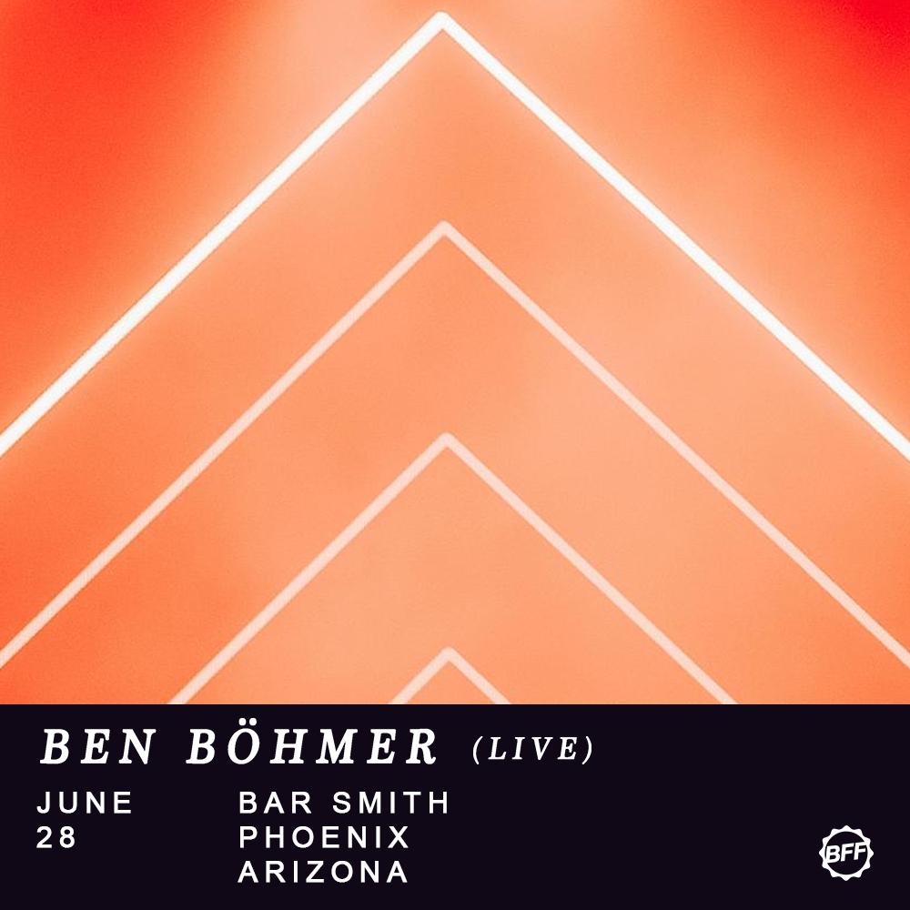 Flyer for Ben Böhmer