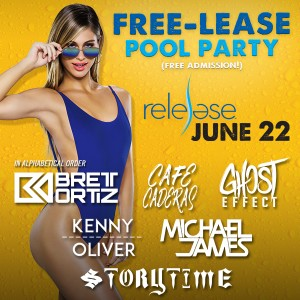 Release Pool Party - Local Day on 06/22/19