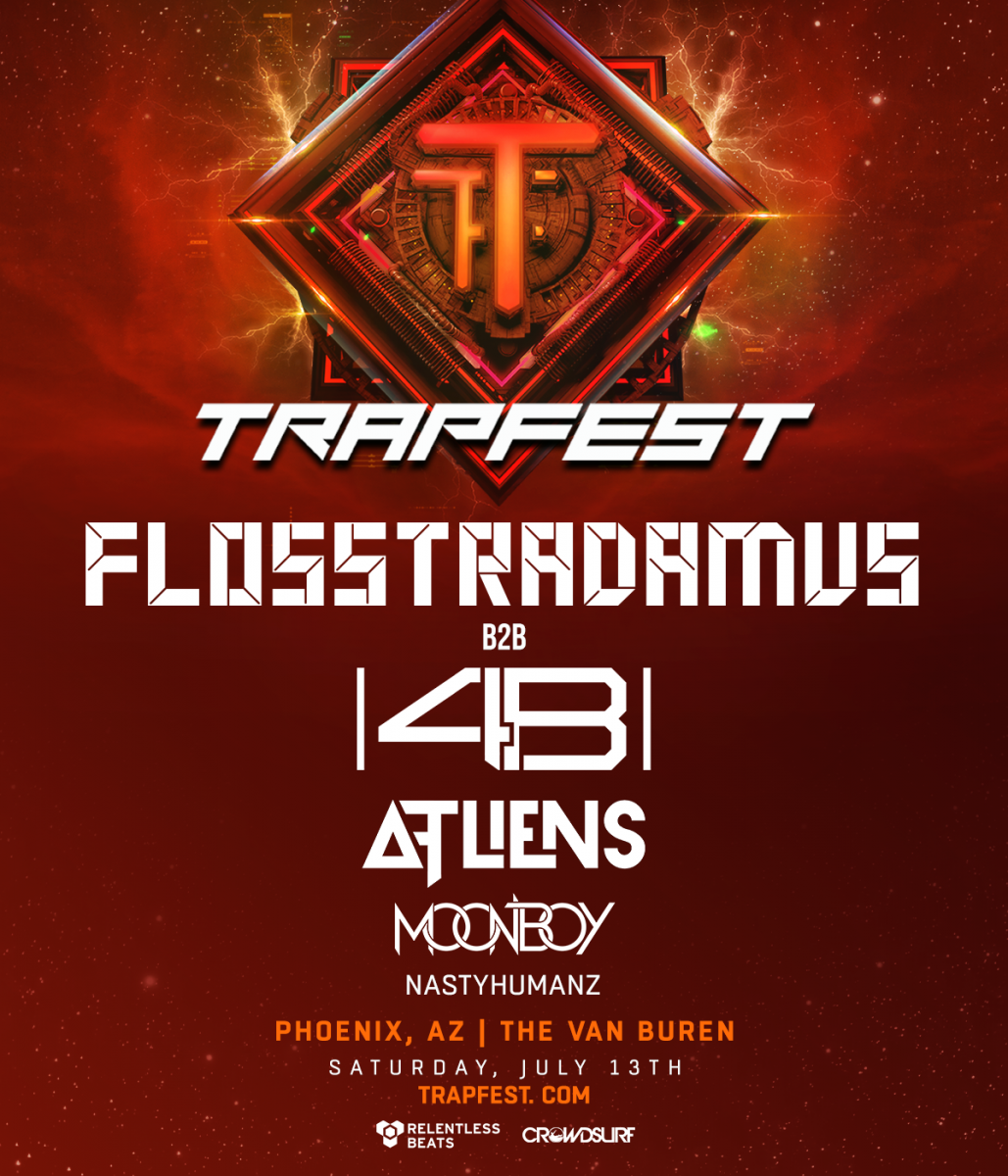 Flyer for Trapfest Phoenix 2019