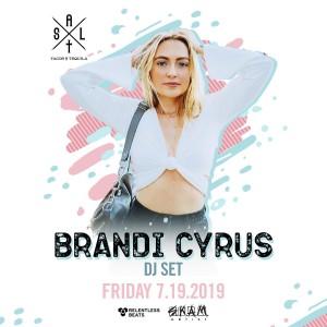 Brandi Cyrus on 07/19/19