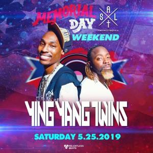 Ying Yang Twins on 05/25/19