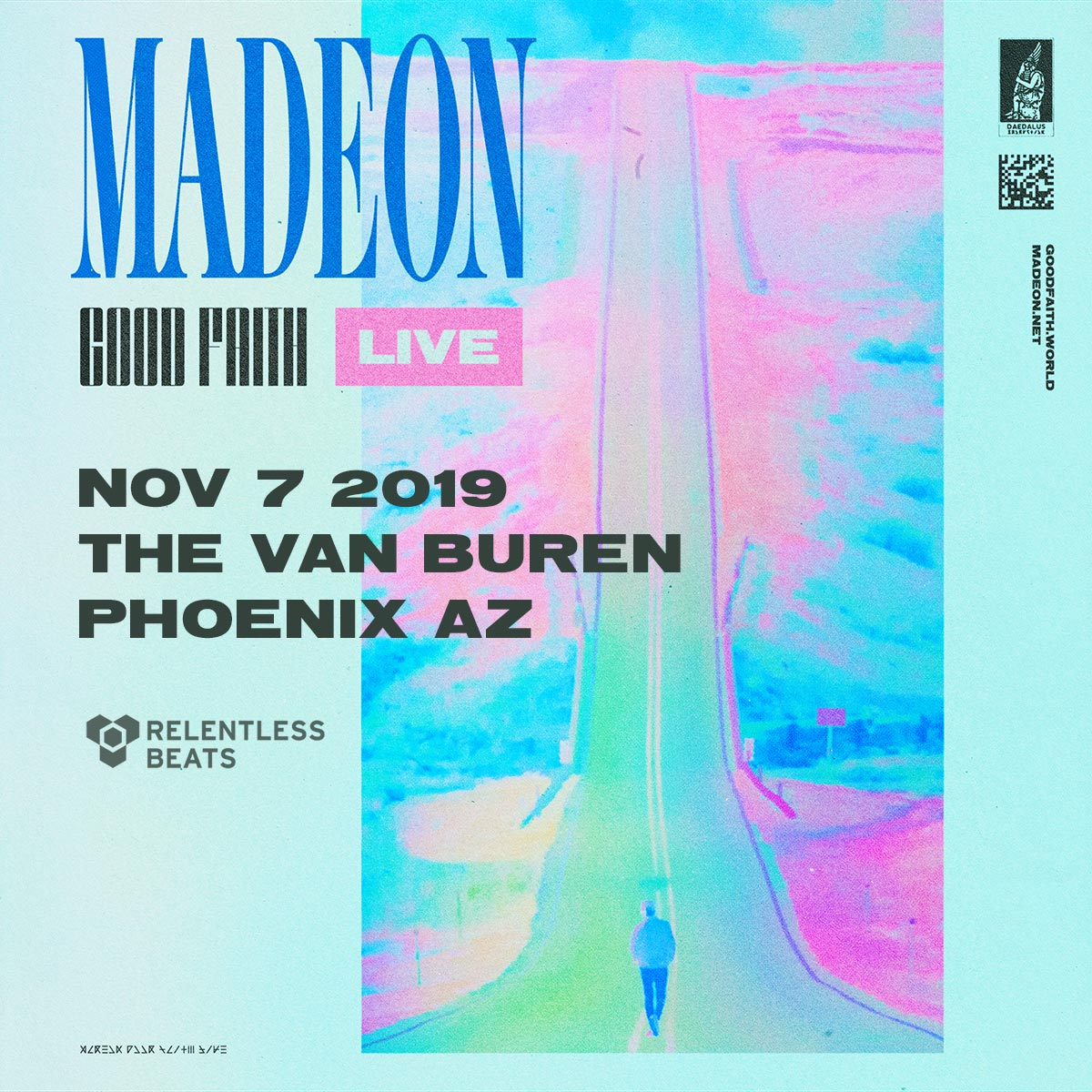 Flyer for Madeon