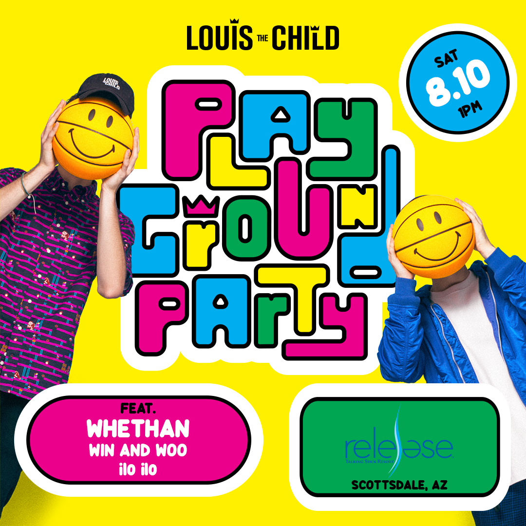 Flyer for Louis The Child + Whethan