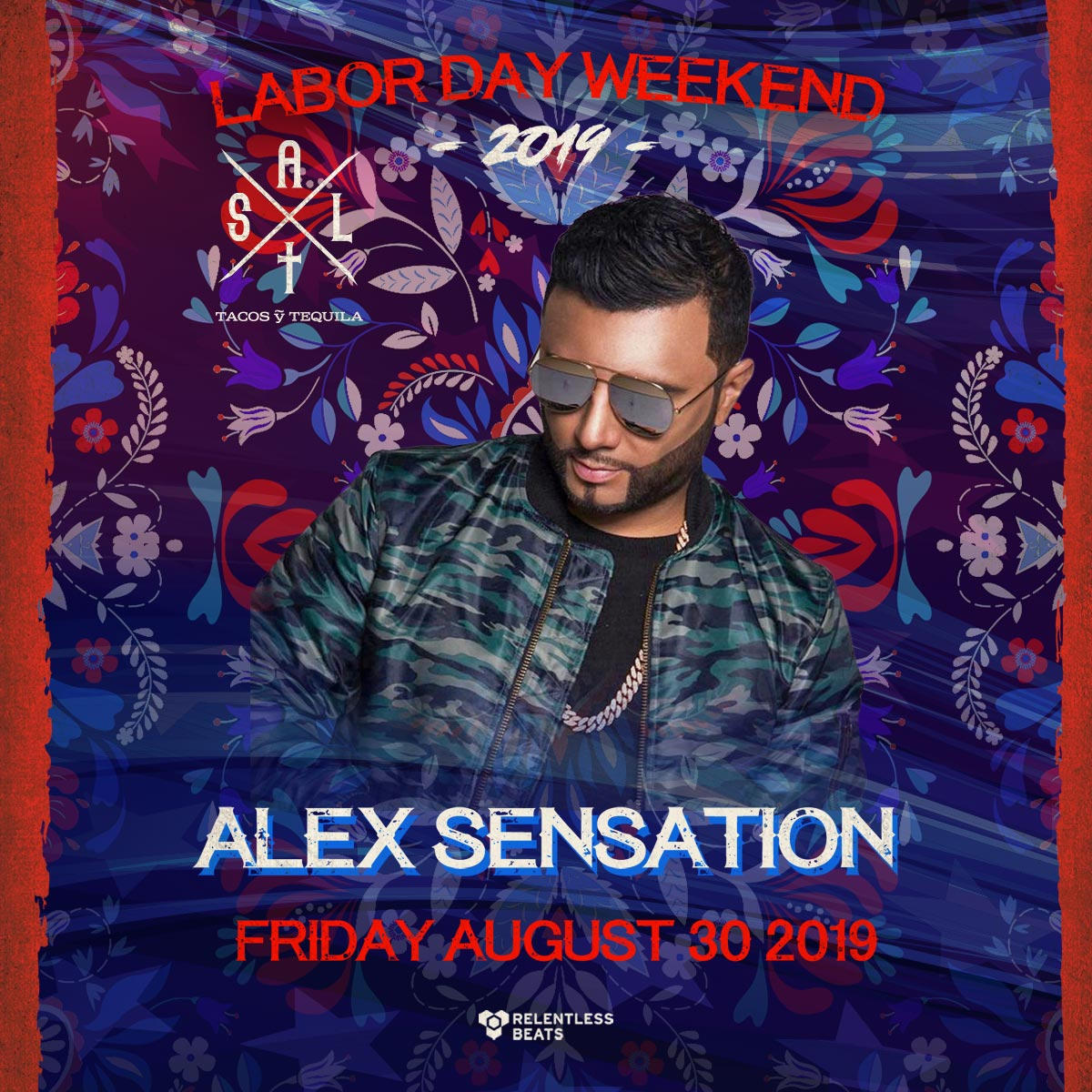 Flyer for Alex Sensation