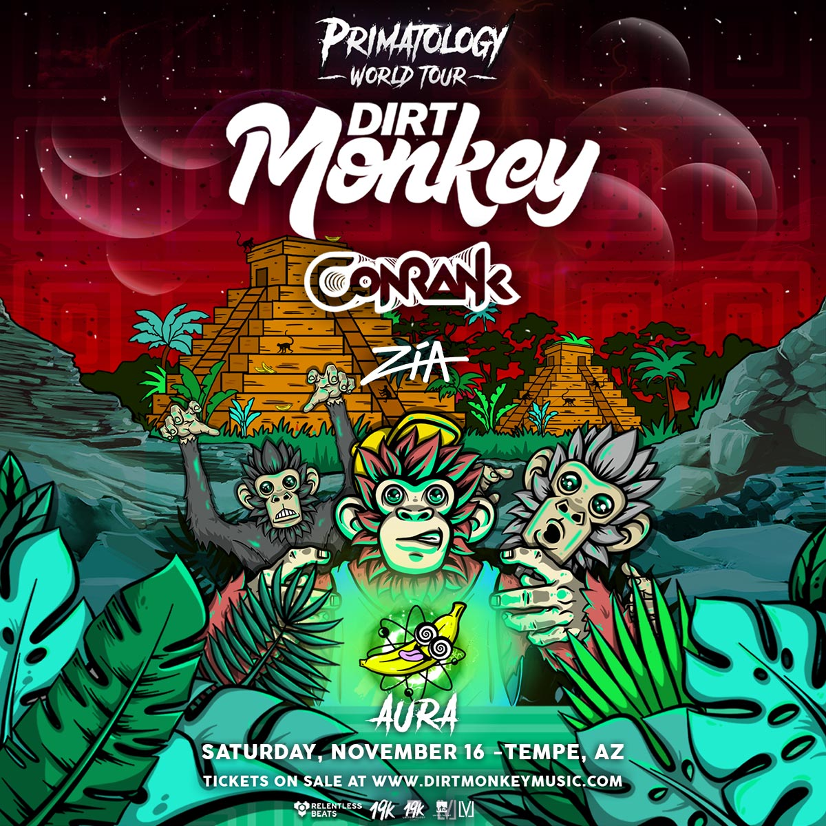 Flyer for Dirt Monkey