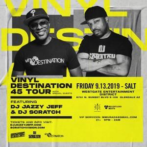 DJ Jazzy Jeff & DJ Scratch on 09/13/19
