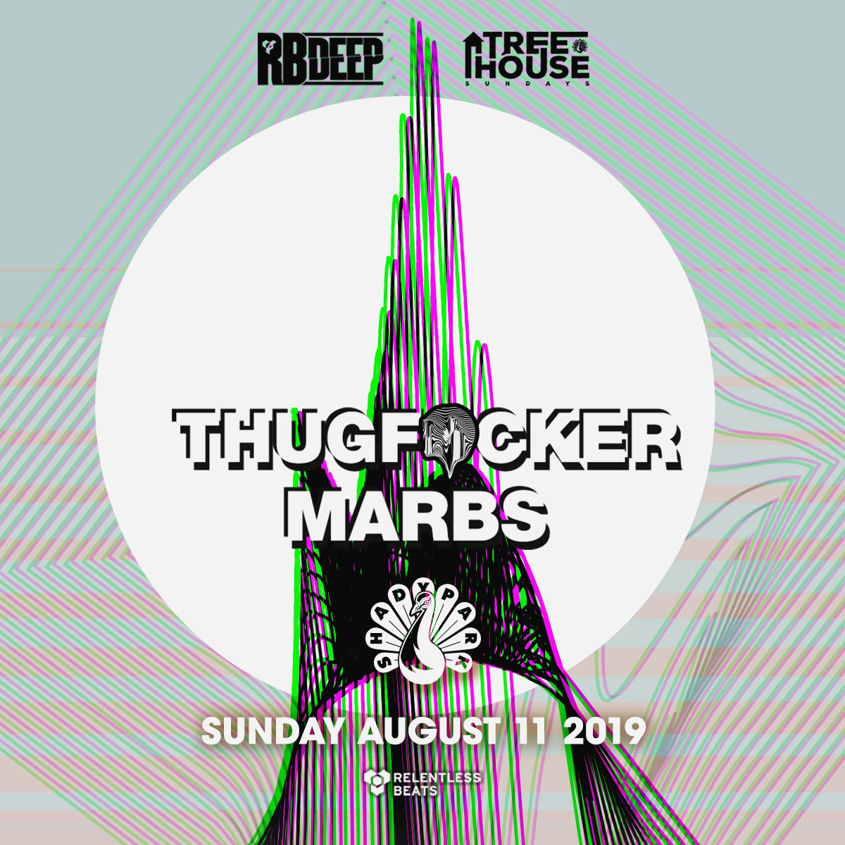 Flyer for Thugfucker + Marbs