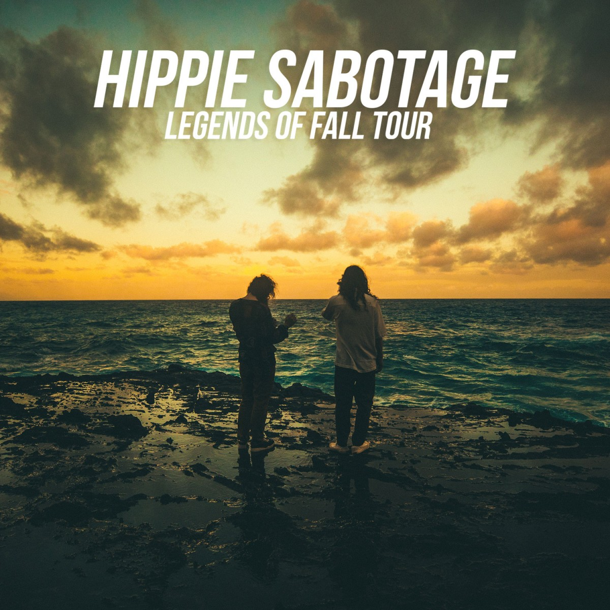 Flyer for Hippie Sabotage