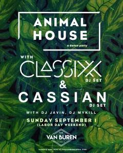 Classixx + Cassian on 09/01/19