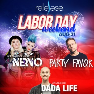 Nervo + Party Favor + Dada Life on 08/31/19