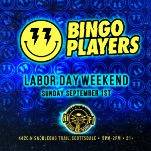 Bingo Players on 09/01/19