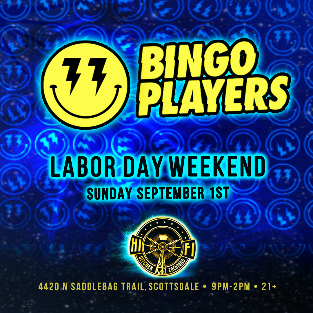 Flyer for Bingo Players