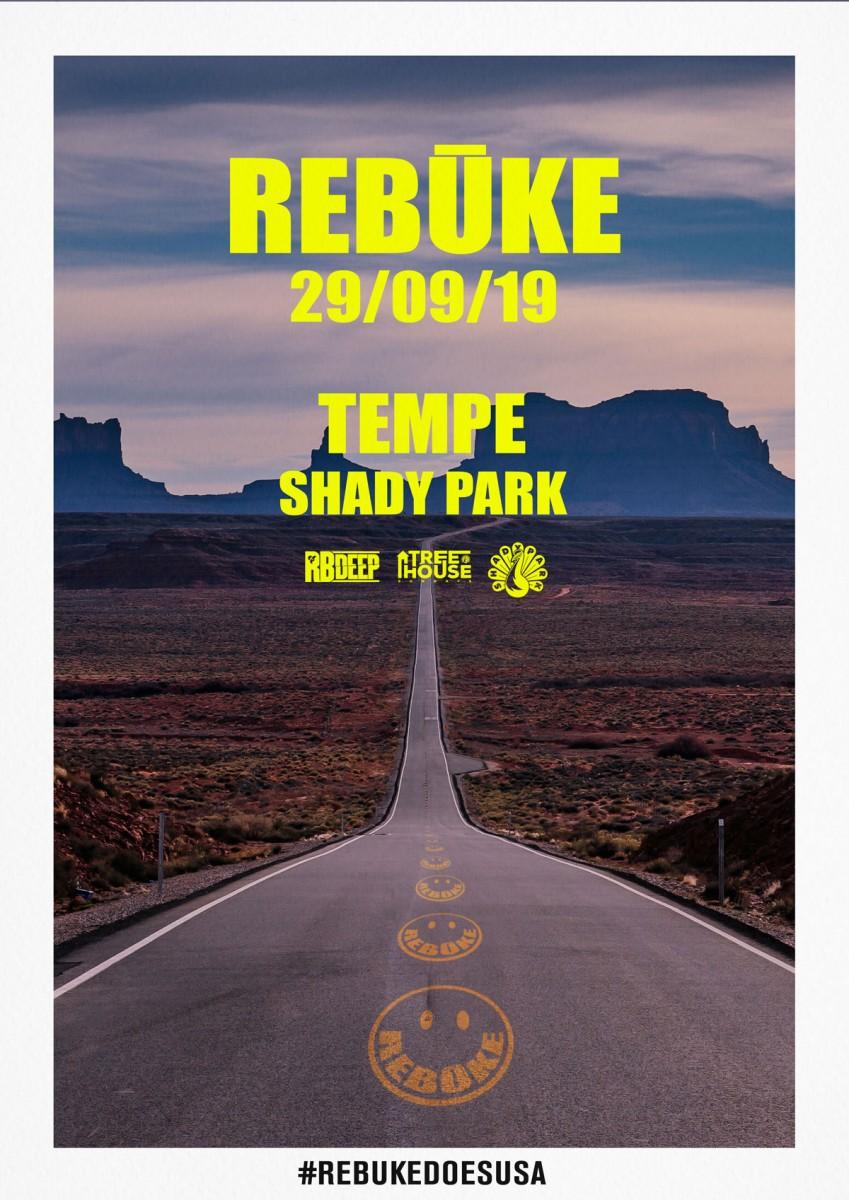 Flyer for Rebūke