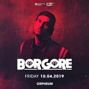 Borgore on 10/04/19