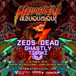 Deadbeats Halloween - Albuquerque on 10/25/19