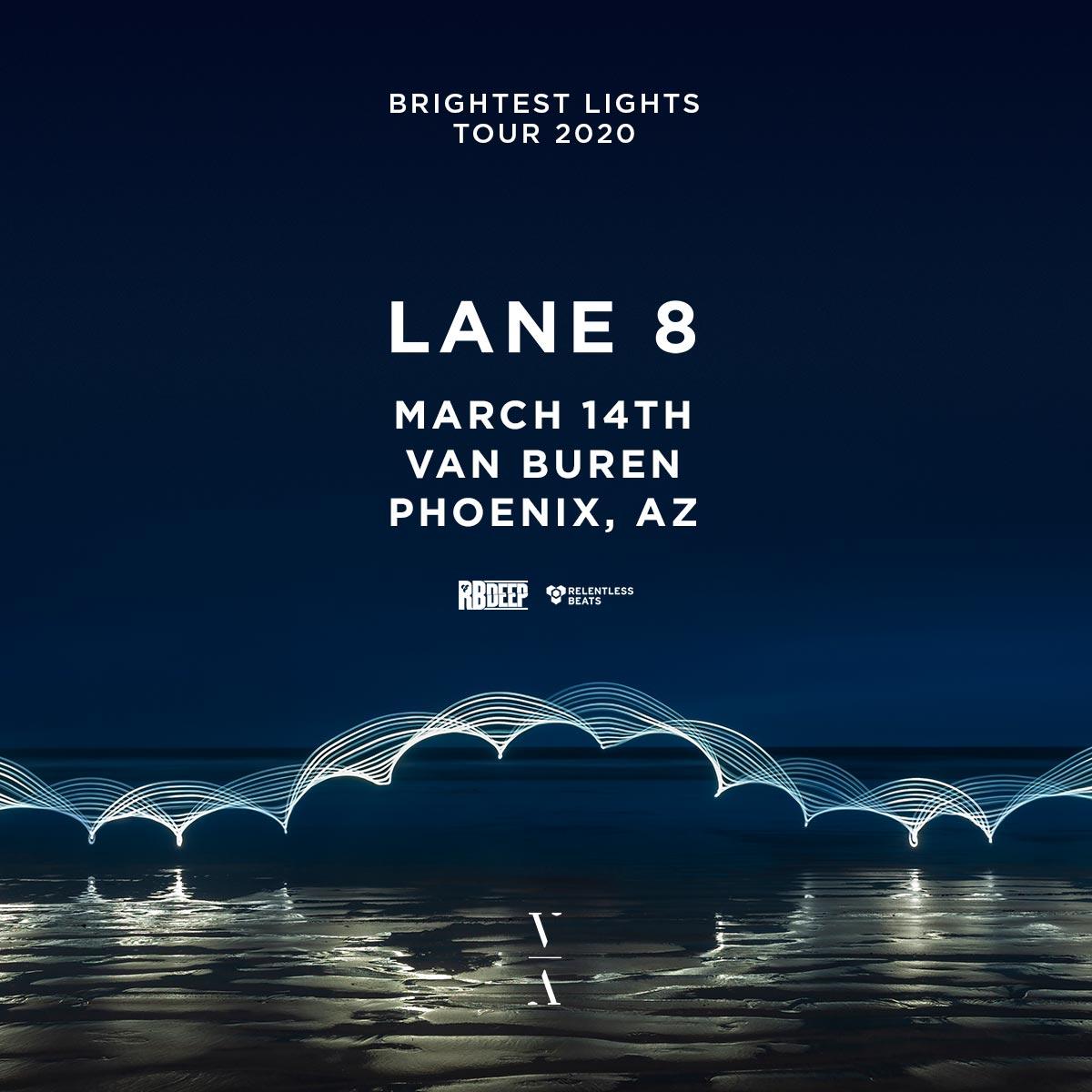 Flyer for Lane 8