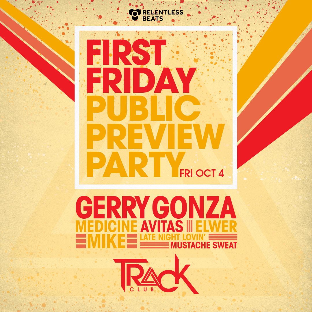 Flyer for Gerry Gonza & Friends