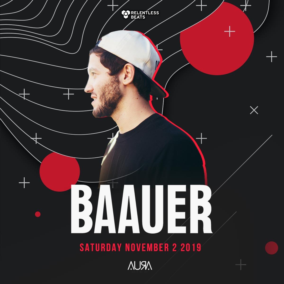 Flyer for Baauer