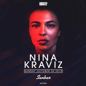 Nina Kraviz on 10/20/19
