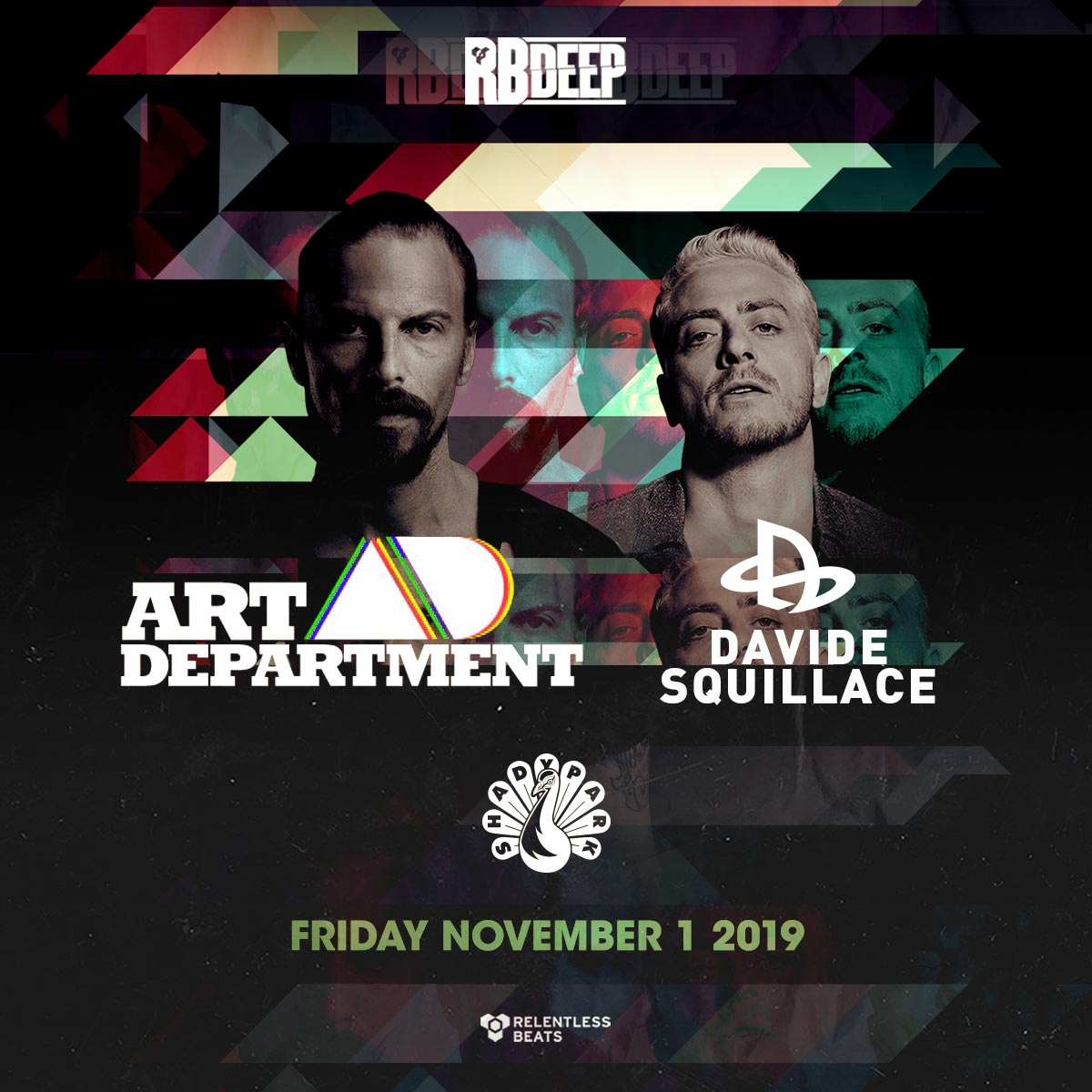 Flyer for Art Department + Davide Squillace