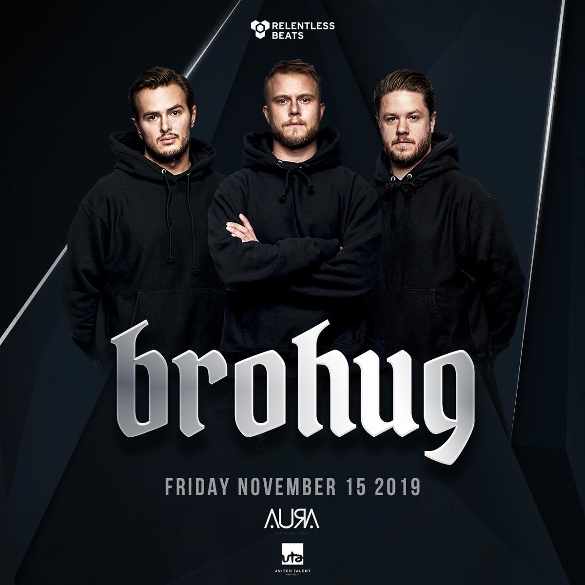 Flyer for Brohug