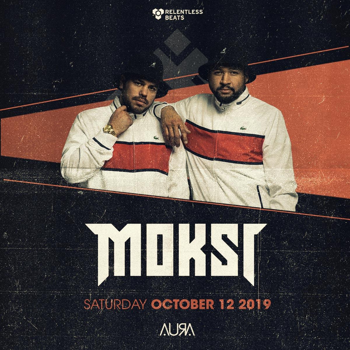 Flyer for Moksi