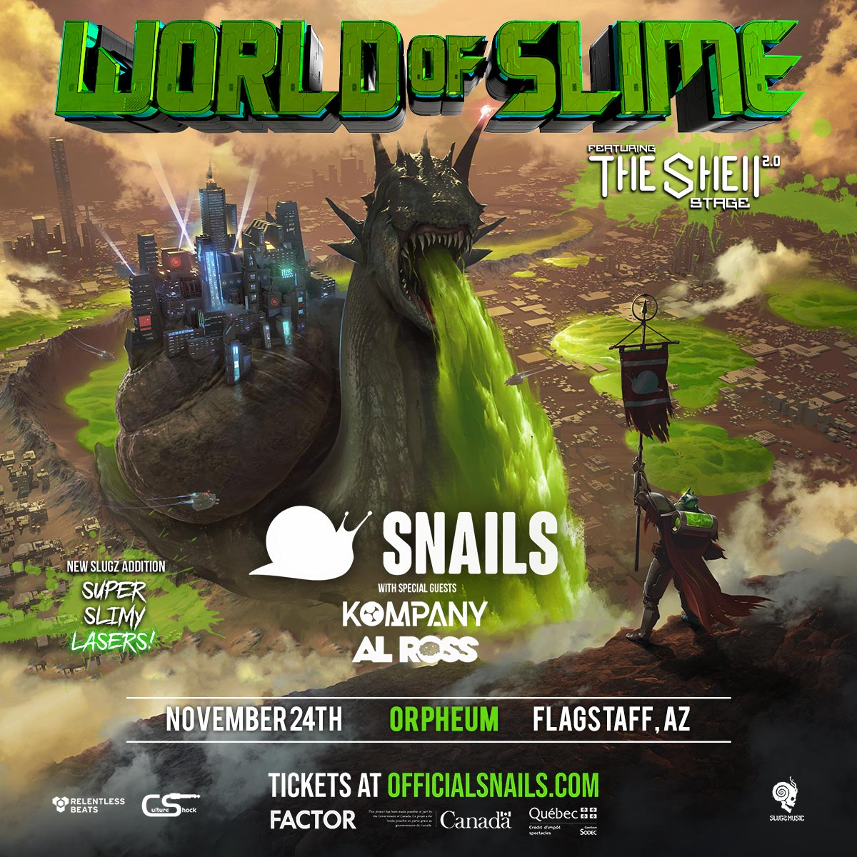 Flyer for Snails