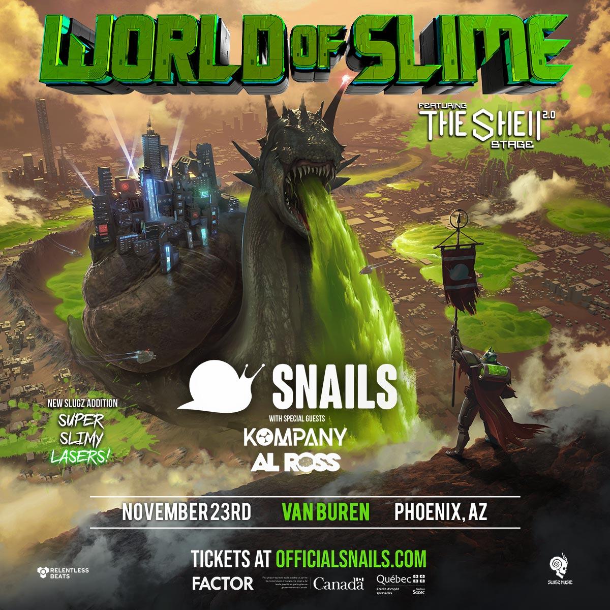 Flyer for Snails