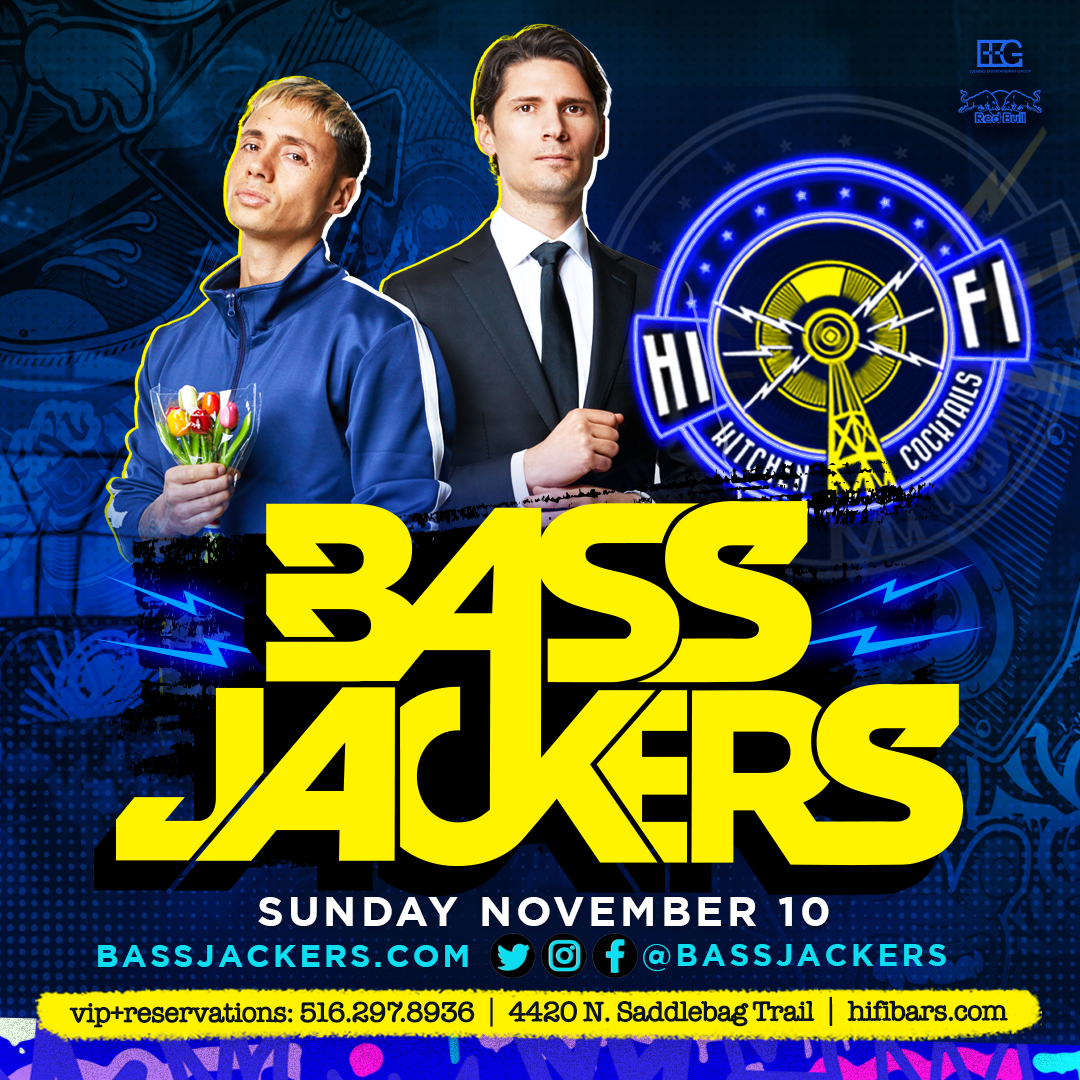 Flyer for Bassjackers