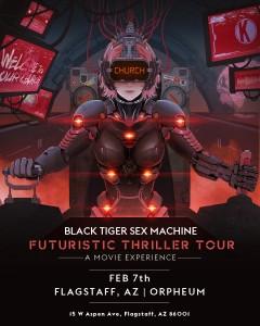 Black Tiger Sex Machine on 02/07/20