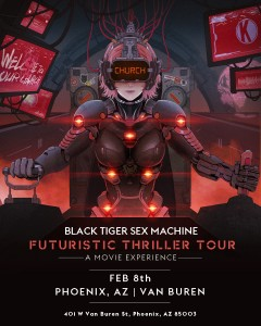 Black Tiger Sex Machine on 02/08/20