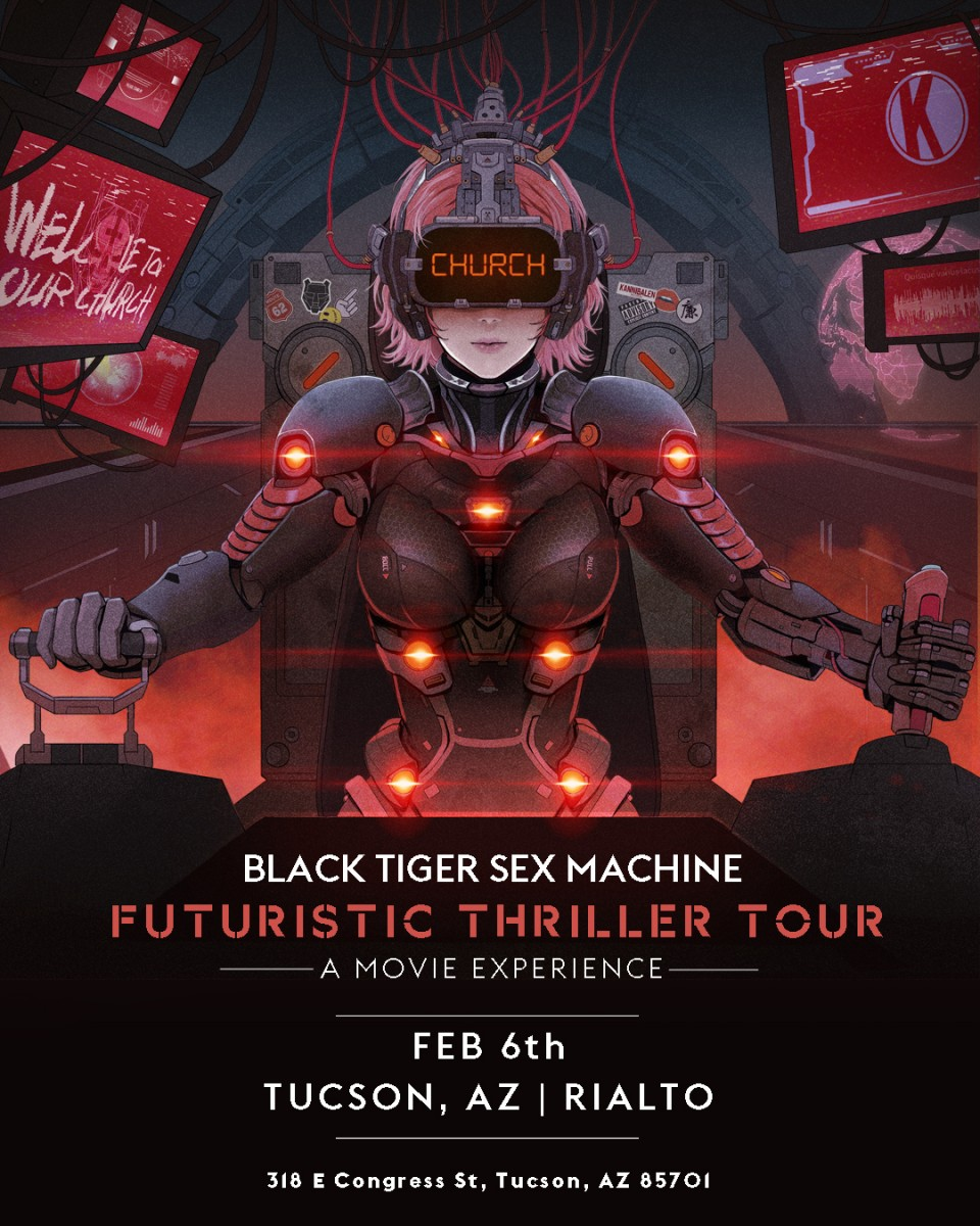 Flyer for Black Tiger Sex Machine