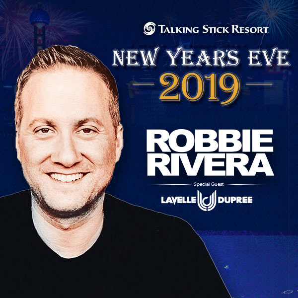 Flyer for Robbie Rivera