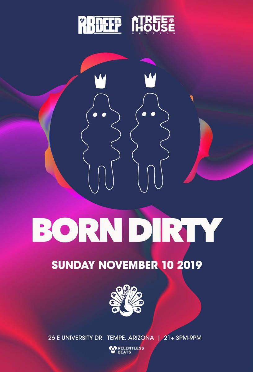 Flyer for Born Dirty