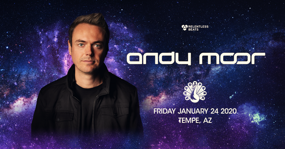 Flyer for Andy Moor