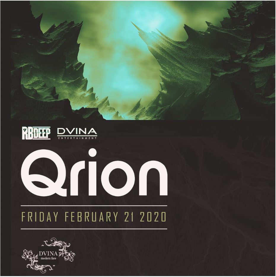 Flyer for Qrion