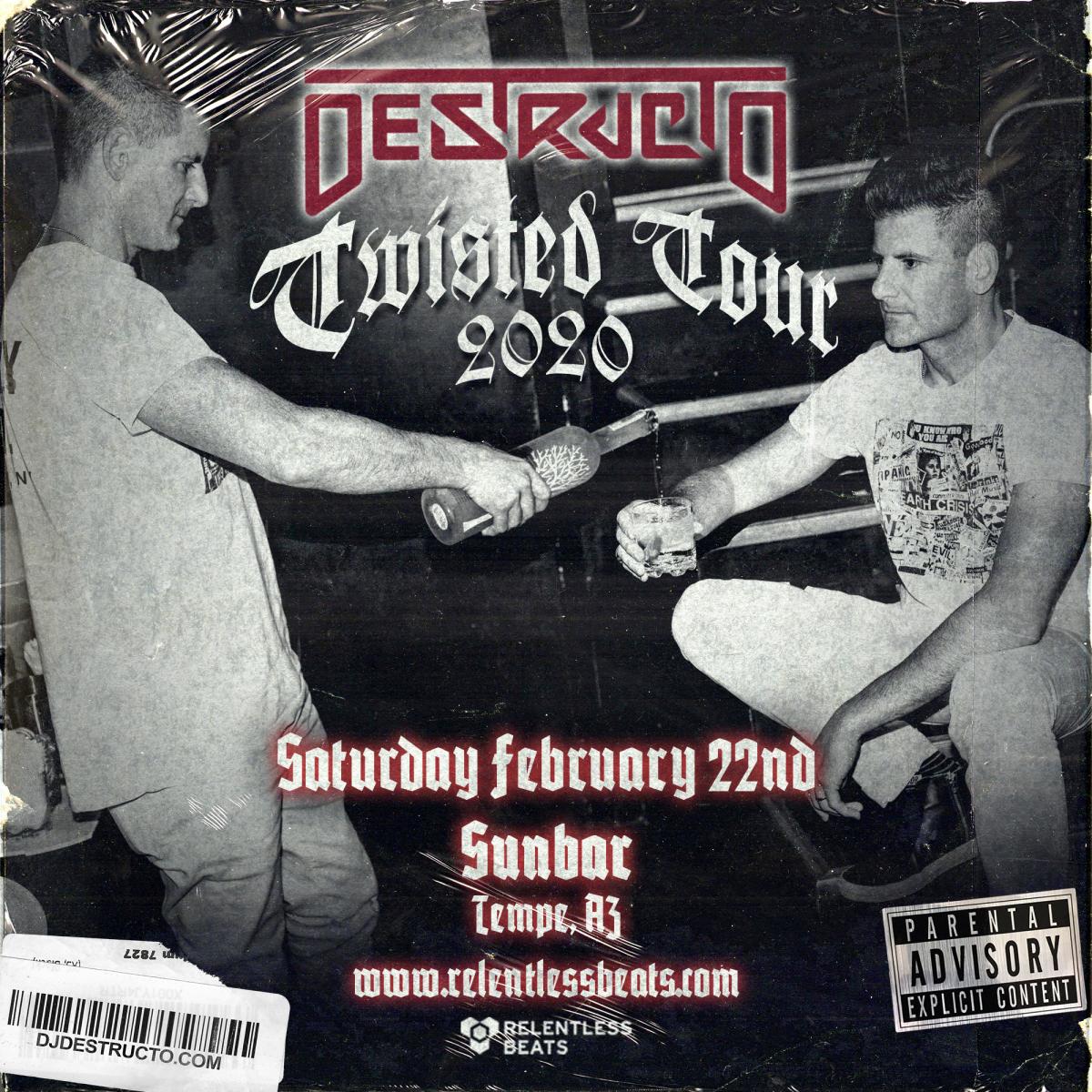Flyer for Destructo