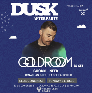 Goldroom - Dusk Afterparty on 11/10/19