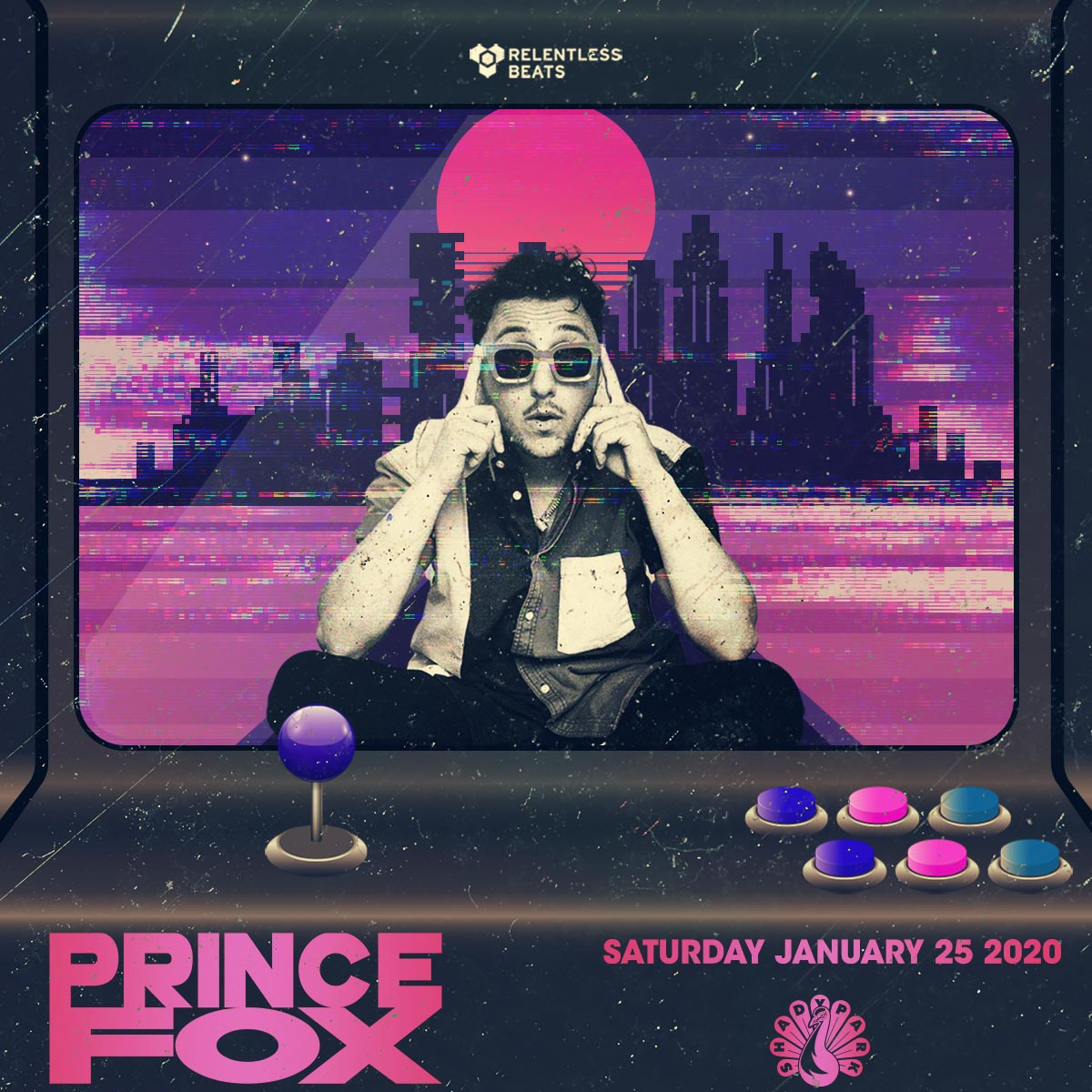 Flyer for Prince Fox