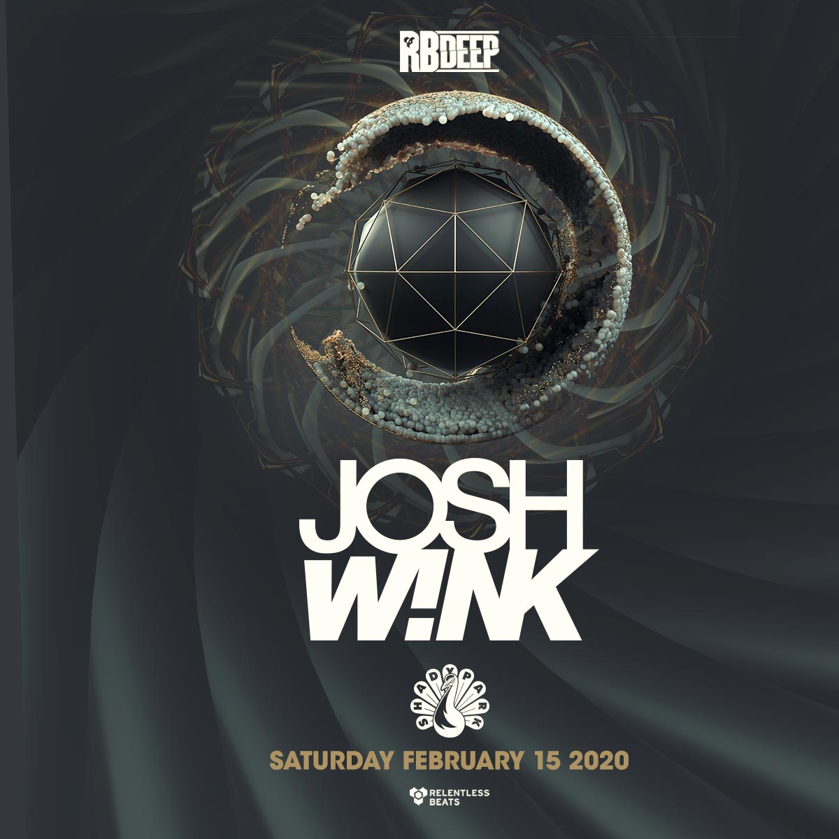 Flyer for Josh Wink