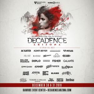 Decadence Arizona 2019 on 12/30/19