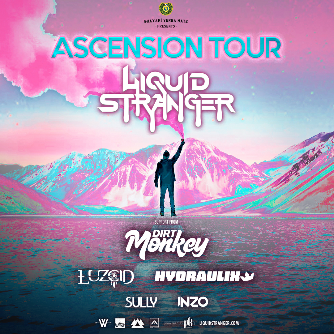Flyer for Liquid Stranger