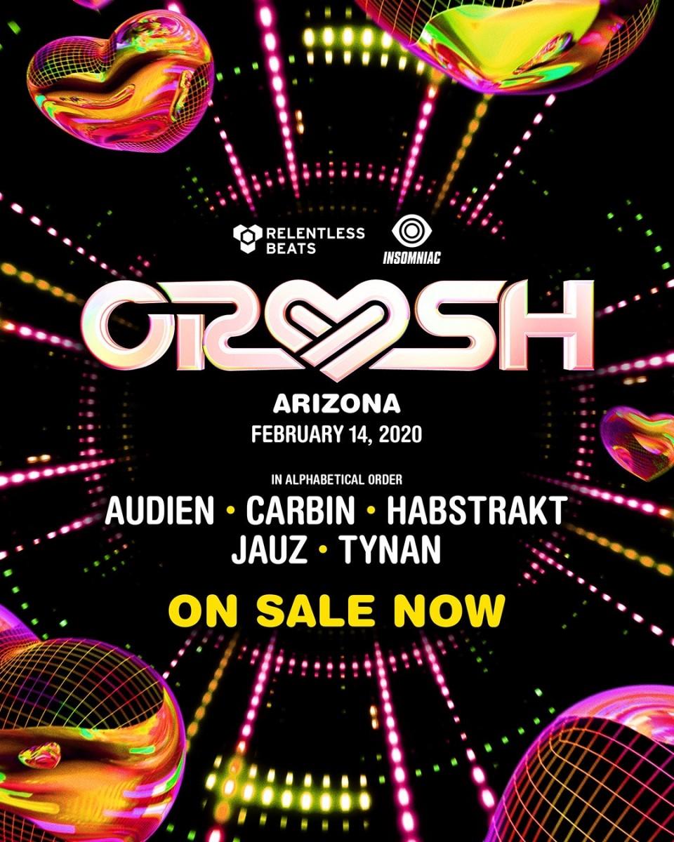 Flyer for Crush Arizona 2020