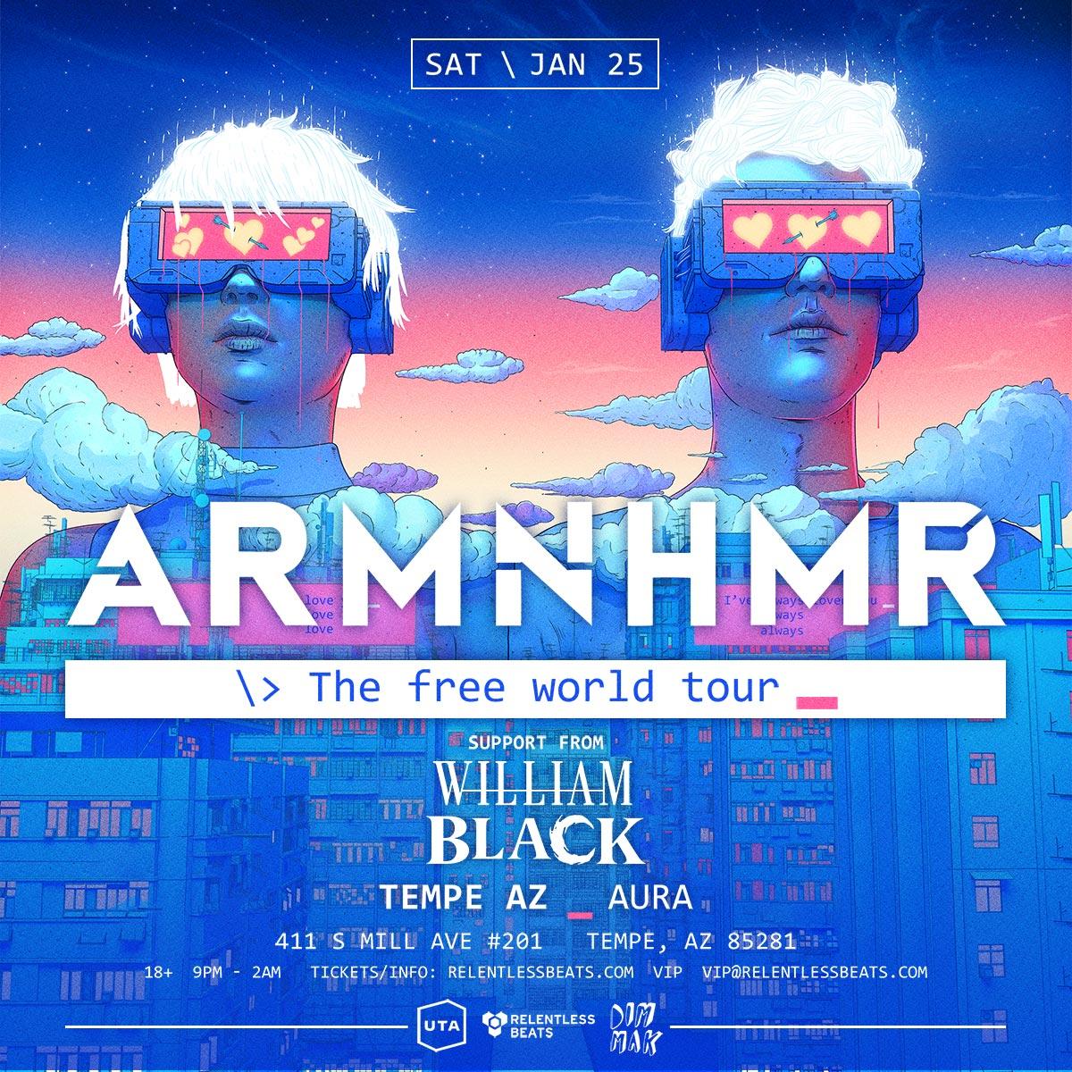 Flyer for ARMNHMR