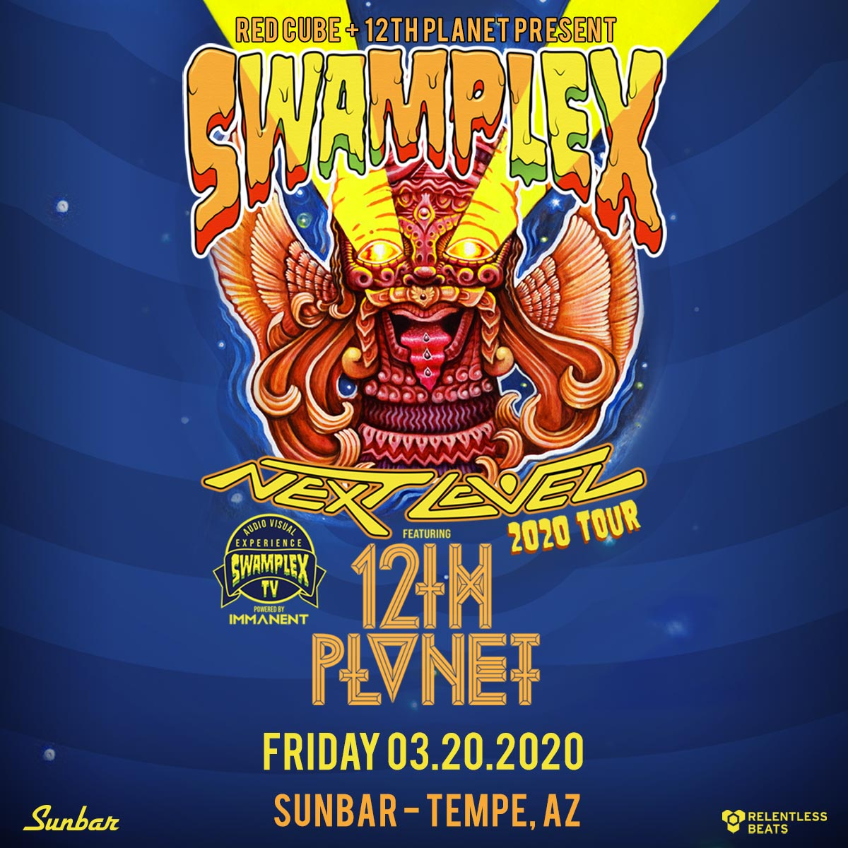 Flyer for 12th Planet