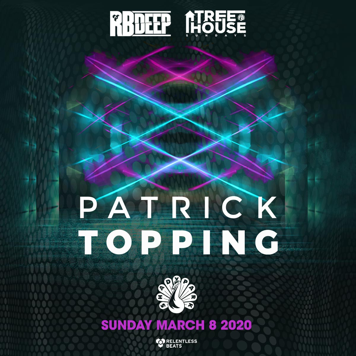 Flyer for Patrick Topping