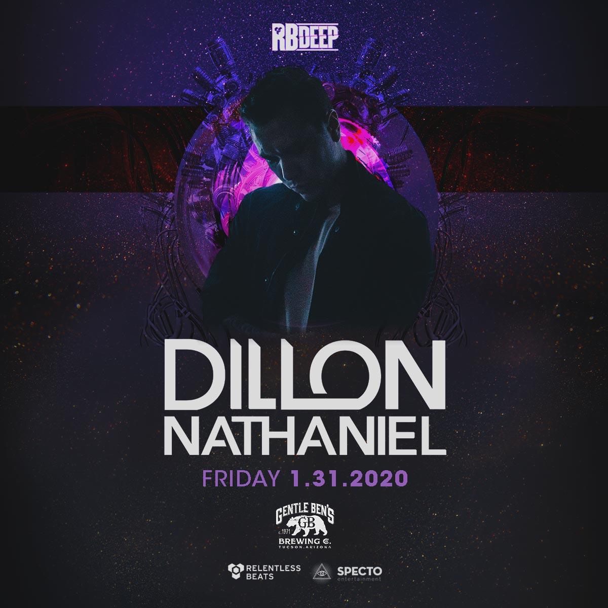 Flyer for Dillon Nathaniel