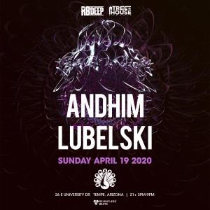 Postponed - Andhim + Lubelski on 04/19/20