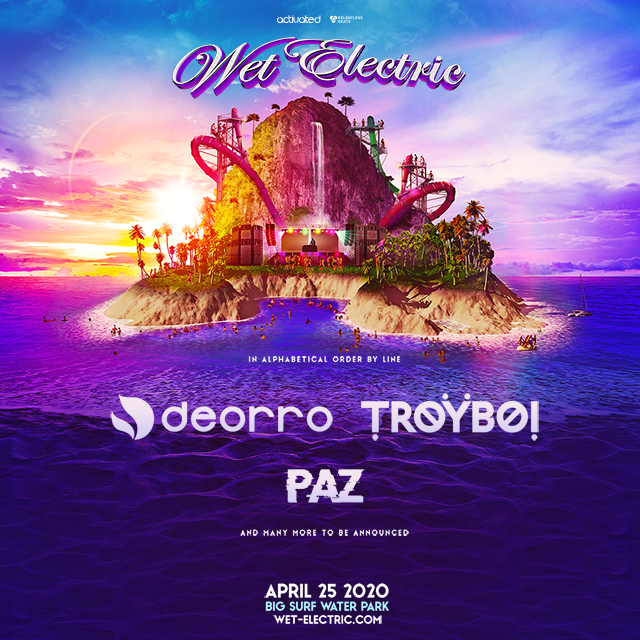 Flyer for Wet Electric 2020