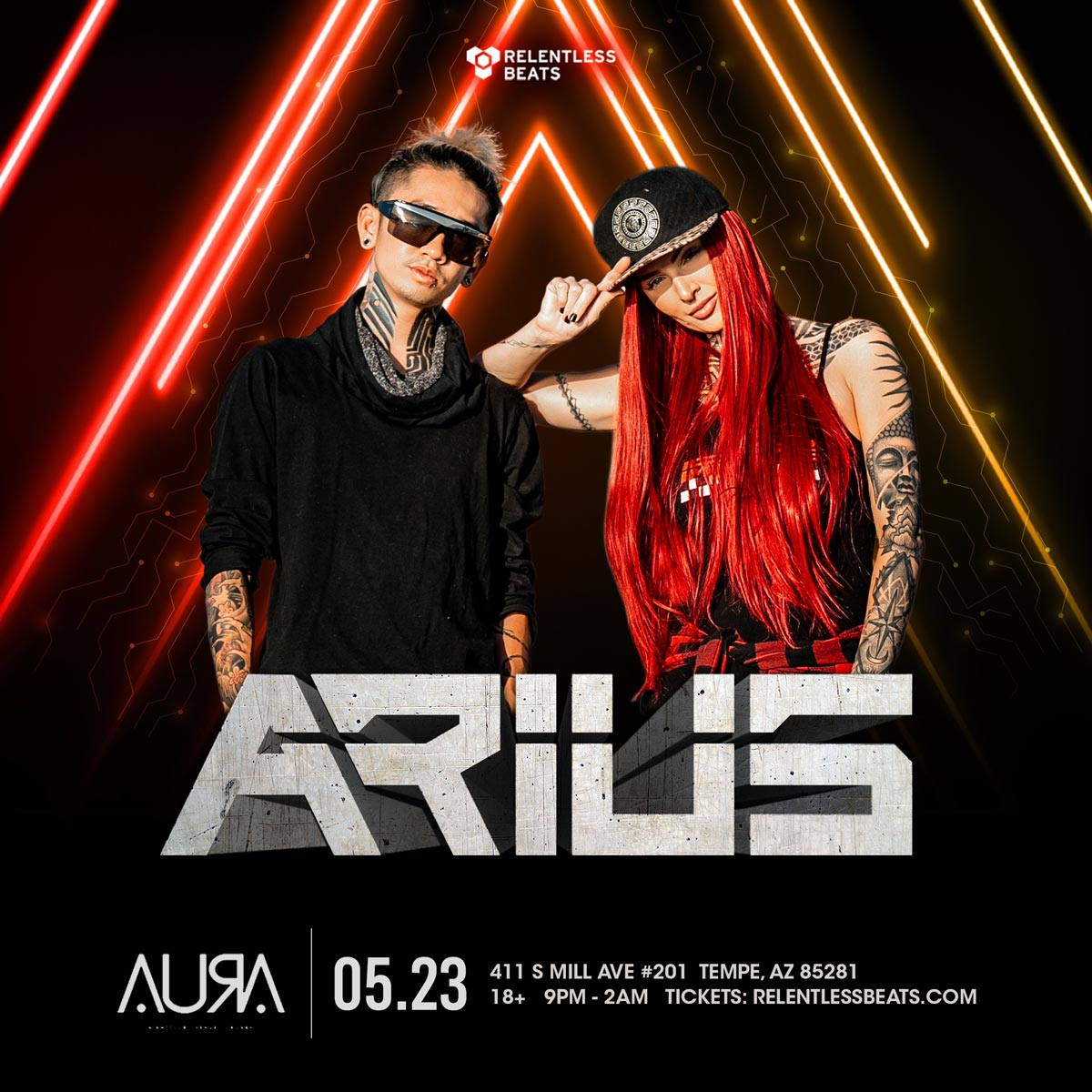 Flyer for Arius